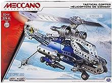 Comprar Meccano - Evolución Táctica Copter paquete de construcción de 2 modelos de aviones, 370 piezas