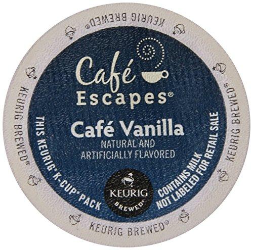 Keurig K Cups Cafe Escapes front-631185
