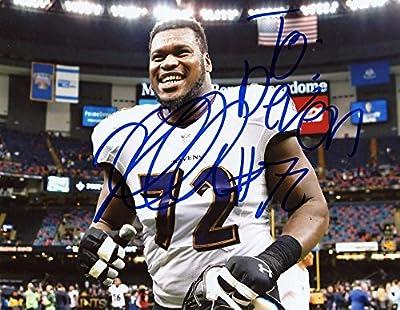 Kelechi Osemele Baltimore Ravens Signed Autographed 8x10 Photo W/coa