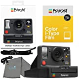 Polaroid OneStep 2 Viewfinder i-Type Camera 9009 Graphite Bundle with a Color i-Type Film Pack 4668 (8 Instant Photos) and a Lumintrail Cleaning Cloth (Color: black)