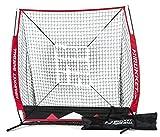 Rukket 5x5 Baseball & Softball Practice Net w/ Strike Zone...