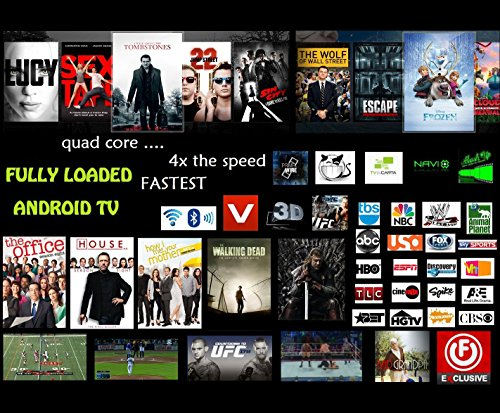 Lowest Price! CS918 Android 4.4 TV Box Player RK3188T Quad Core 2GB/8GB WiFi 1080P with Remote Contr...