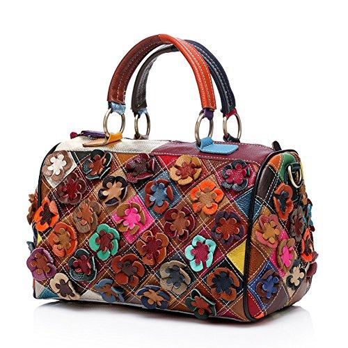 Yilen, Borsa a spalla donna Multicolore Multicolore