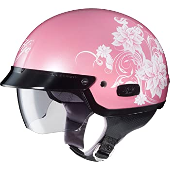 hot pink motorcycle helmets
