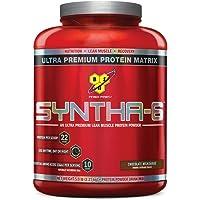 BSN Syntha-6 Sustained Release Protein Powder Chocolate Milkshake (5.04 lbs.)
