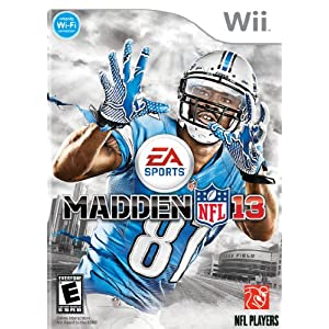 Madden NFL 13 Wii Video Game
