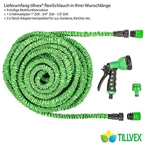 Tillvex tubo flessibile prolunga da giardino lunghezza for Tubo giardino 5 8
