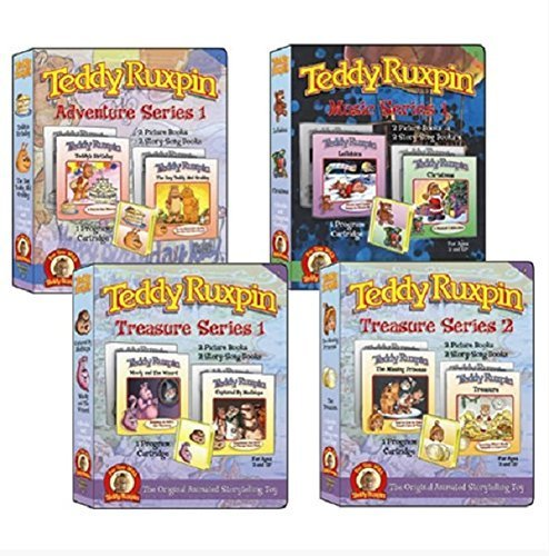 Teddy Ruxpin Favorite Software Series Bundle Program Cartridge by Backpack Toys (Teddy Ruxpin Grubby)