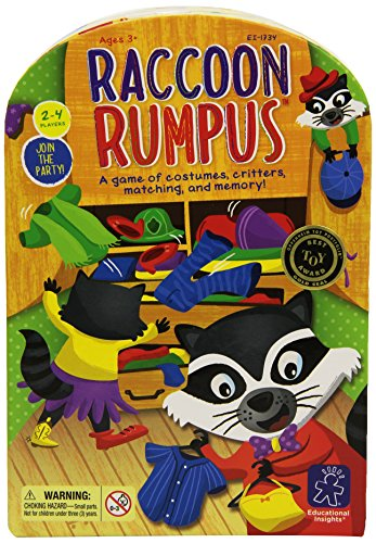 EDUCATIONAL INSIGHTS RACCOON RUMPUS GAME - 1