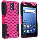 Apex Hybrid Case for Samsung© Infuse 4G i997, Black & Hot Pink