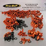 PRO BOLT FULL MONTY BOLT KIT FITS SUZUKI TL1000R 1998-2003 ORANGE