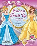 Disney Princess Dress Up: A Forever Sticker Storybook