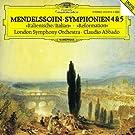 Mendelssohn: Symphonies No. 4