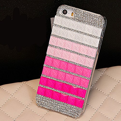 Candy Crystal Bling Diamond Rhinestone Hard Back Case Cover For Iphone 5C