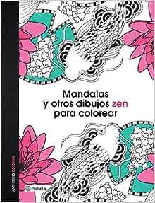 Amazon.com: Mandalas y otros dibujos zen para colorear (Spanish