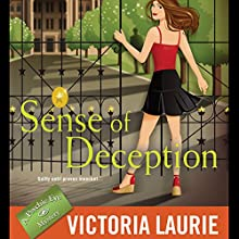 Sense of Deception Audiobook by Victoria Laurie Narrated by Elizabeth Michaels