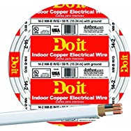 Southwire 28827418 Do it Nonmetallic Sheathed Cable-50' 14-2 NMW/G WIRE