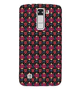 EPICCASE flowery knots Mobile Back Case Cover For LG K10 (Designer Case)