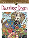 Creative Haven Dazzling Dogs Coloring...
