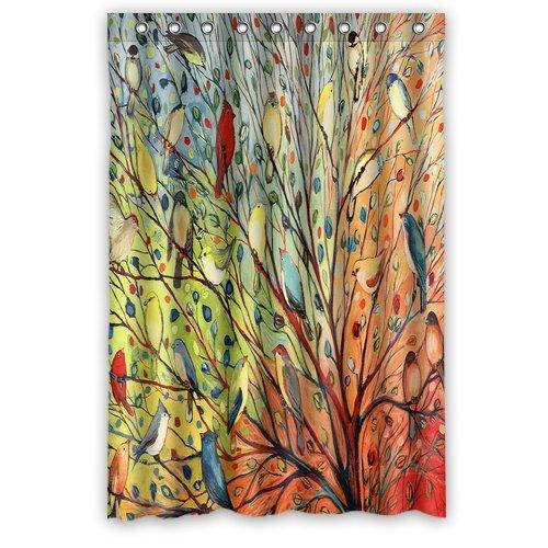 Tree of Life birds Fashion Shower Curtain