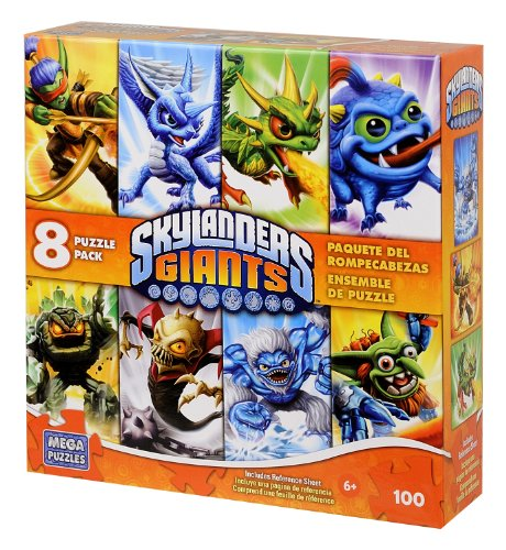 Title #2 Skylanders Swap Force Puzzle, 8-in-1 Multipack