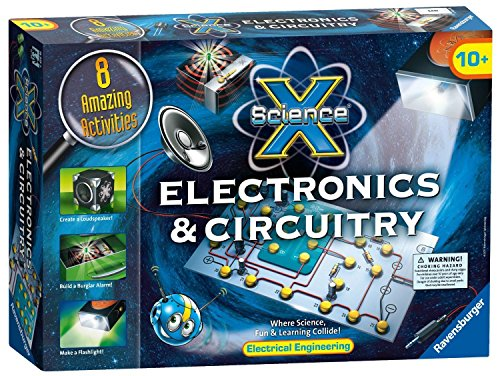 Electronics & Circuitry - Science Kits By Science X (18919)