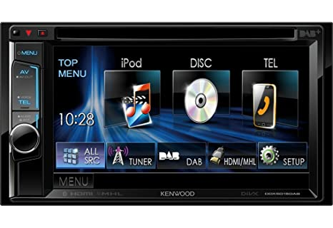 Kenwood Multimediasystem DDX-5015DAB