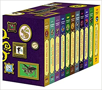 How To Train Your Dragon: Paperback Gift Set 2 written by Cressida Cowell