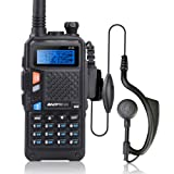 BAOFENG UV-5X Two-Way Radio with FM Function VHF 136-174MHz UHF 400-520MHz Dual Band Dual Watch Transceiver 128 Channels
