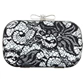 ANDI ROSE Luxury Fashion Lace Floral Rhinestones Clutch Evening Shoulder Designer Bags Handbags