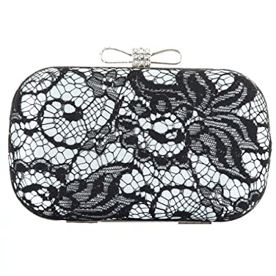 ANDI ROSE Luxury Fashion Lace Floral Rhinestones Clutch Evening Shoulder Designer Bags Handbags