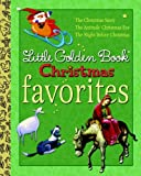 img - for Little Golden Book Christmas Favorites: The Animals' Christmas Eve/The Christmas Story/The Night Before Christmas (Little Golden Book Favorites) by Gale Wiersum (2009-08-25) book / textbook / text book
