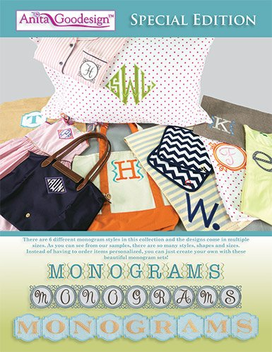 Anita Goodesign Monograms Special Edition Embroidery Designs front-688439