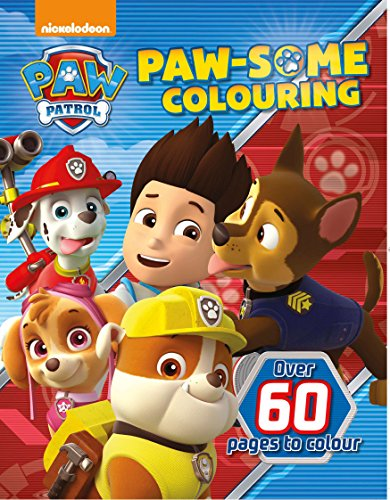 Nickelodeon Paw Patrol Paw-Some Colouring (Colouring Book)