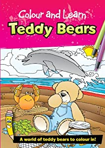 Green Board Games Colour and Learn Teddy Bears by Green Board Games