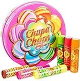 Lip Smacker Chupa Chups Gift Tin with 6 Lip Balms