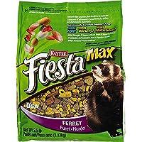 Kaytee Fiesta Max Gourmet Ferret Food 2.5-lb bag - Manufacturer: Kaytee