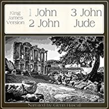 One John, Two John, Three John, Jude (       UNABRIDGED) by King James Bible Narrated by Glenn Hascall