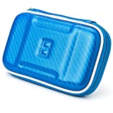 Elegant OEM VG Brand Blue Hard Case for the Aqua Blue Nintendo 3DS Console Game System + Live * Laugh * Love Vangoddy Wrist band!!!