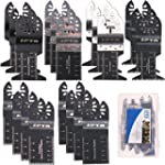SPTA 20Pcs Oscillating Multi Tool Saw...