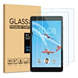 [2-Pack] PULEN for Lenovo Tab E8 Screen Protector,HD Easy Installation Anti-Fingerprints 9H Hardness Tempered Glass for Lenovo Tab E 8 Tablet TB-8304F/TB-8304F1(8.0 Inch)