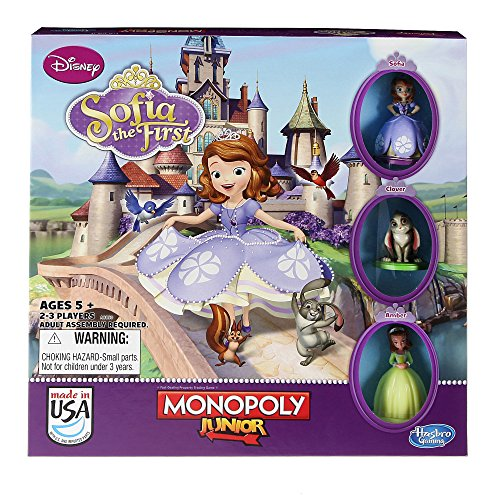 Monopoly Junior Game, Disney Sofia the First Edition JungleDealsBlog.com