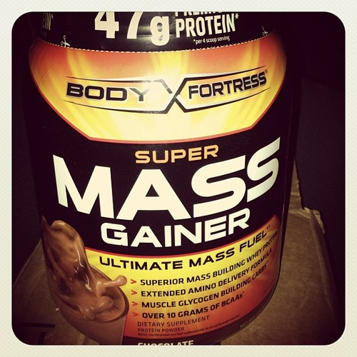 Body fortress weight gainer