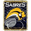 Buffalo Sabres NHL Triple Woven Jacquard Throw (019 Series) (48x60&quot;)&quot;