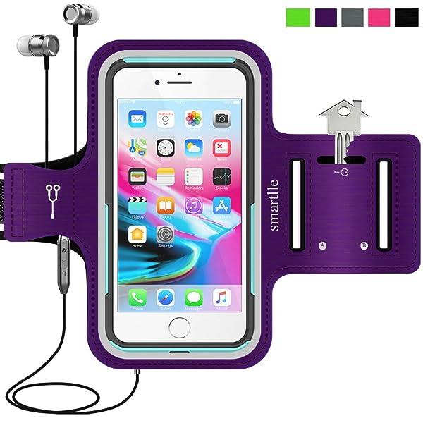 quality design 02e01 c1ed3 Sport Armband Water Resistant Running Case iPhone 8 Plus 7 Plus 6s ...