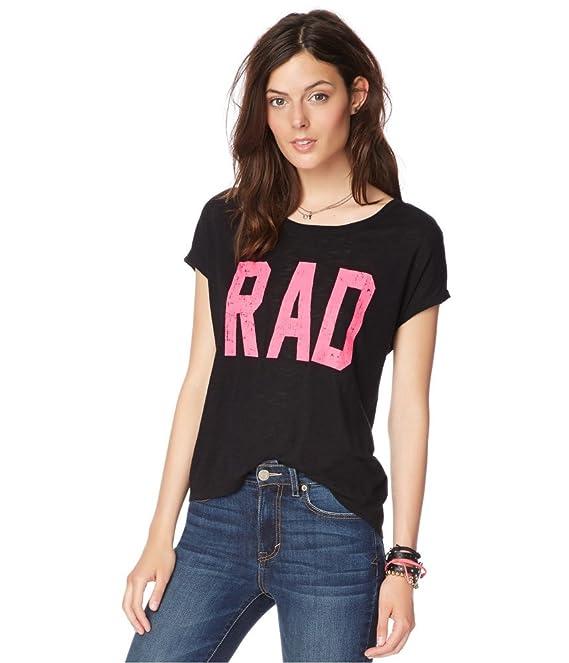 Aeropostale Womens Rad Graphic T-Shirt