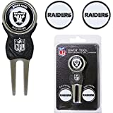 Oakland Raiders NFL Divot Tool w/ Three Double Sided Ball Marker at Amazon.com