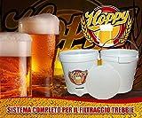 Hoppy Kit Filtrante Doppio Tino Filtraggio Trebbie Lauter Bin Con Fermentatore Omaggio