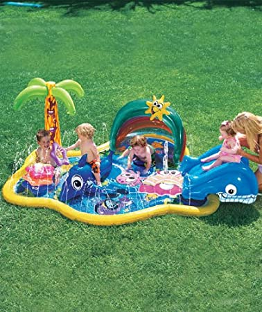 Banzai Baby Sprinkles Splish Splash pool