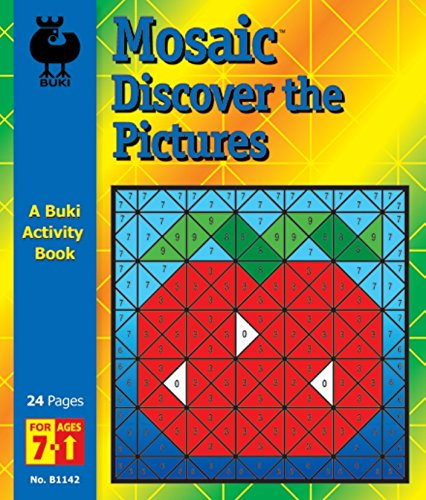 Buki Activity Book Mosaic Discover the Pictures (B1142)